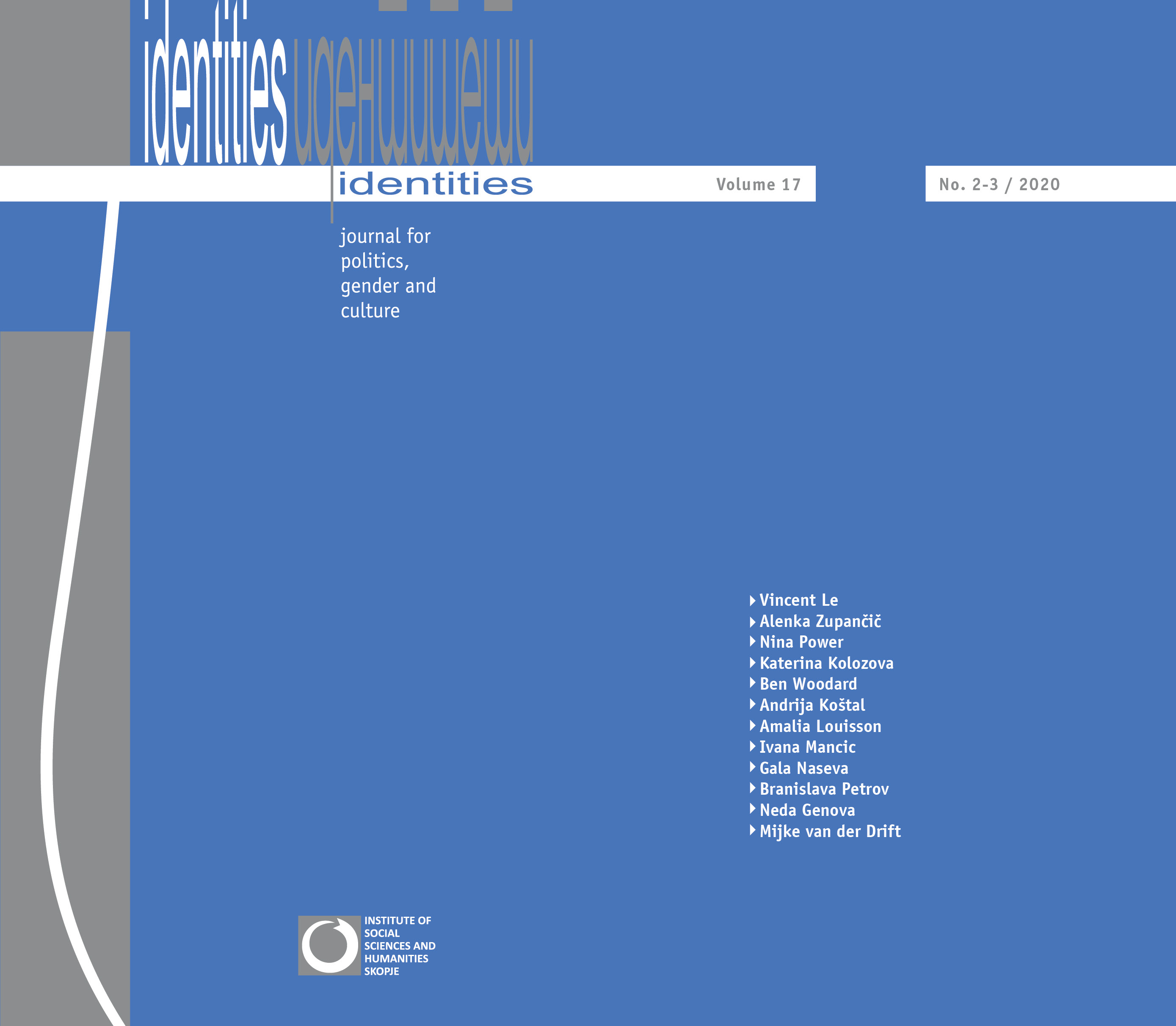 View Vol. 17 No. 2-3 (2020): Vol. 17, No. 2-3 (Winter 2020) - Issue No. 33-34 | Topic: Xenofeminism and Other Forms of Realist and Materialist Feminism: A Vantage Point of a Radically Novel Politics